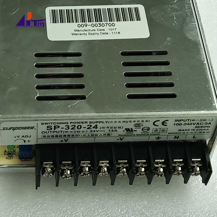 009-0030700 NCR Power Supply Switch Mode 300W 24V 0090030700